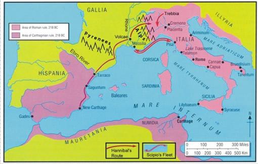 Maps Carthage Map on